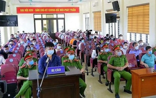 Lĩnh 9 tháng tù vì đấm vào mặt Trưởng CAP đang kiểm tra phòng, chống dịch