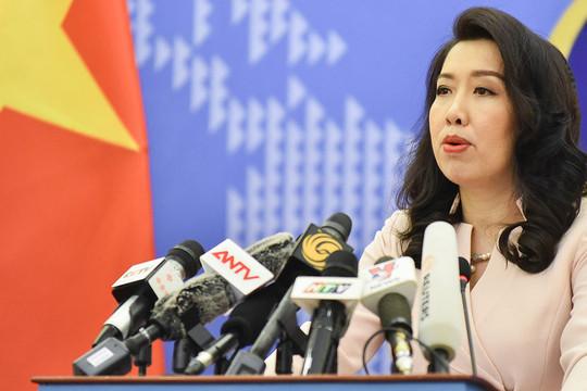 Trung Quốc tập trận quân sự ở Hoàng Sa là vi phạm chủ quyền của Việt Nam