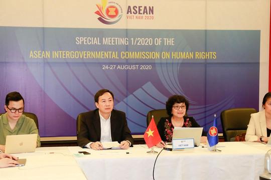 Việt Nam chủ trì cuộc họp đặc biệt Ủy ban liên Chính phủ ASEAN về nhân quyền