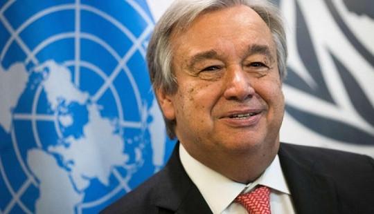 """Tổng Thư ký Antonio Guterres: Việt Nam luôn là """"đối tác mạnh mẽ"""" của Liên hợp quốc"""