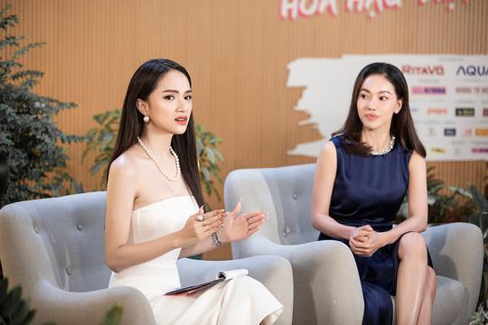 Hương Giang cùng dàn Hậu tề tụ tại Talkshow Series Hoa Hậu Việt Nam 2020
