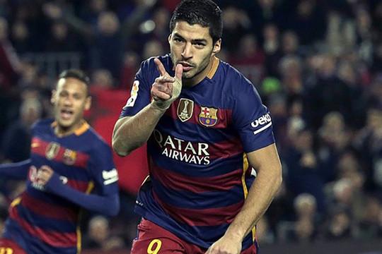 Suarez quyết tâm dứt áo Barca để làm đồng đội Ronaldo