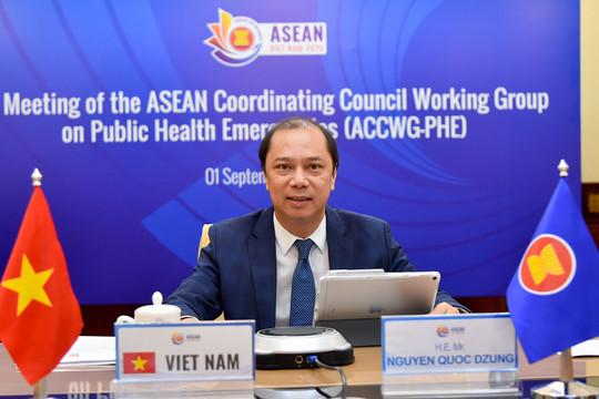 ASEAN lo ngại làn sóng lây nhiễm COVID-19 mới