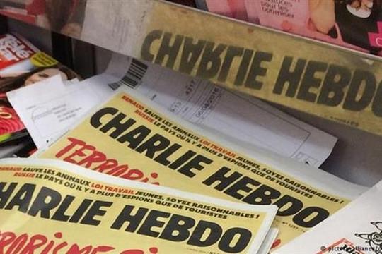 Charlie Hebdo lại đăng các bức biếm họa nhà tiên tri Mohamed