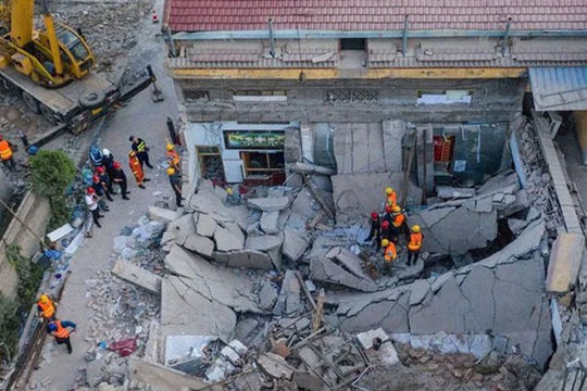 Thủ tướng gửi Điện thăm hỏi về vụ sập nhà tại tại tỉnh Sơn Tây, Trung Quốc