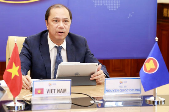 Việt Nam chủ trì Hội nghị SOM ASEAN đặc biệt về Quan hệ đối ngoại ASEAN