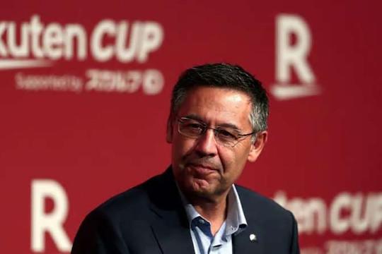 Chủ tịch Barca đối mặt với nguy cơ ngồi tù vì gian lận tài chính