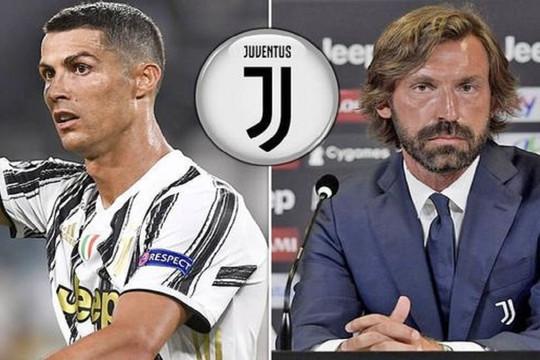 HLV Pirlo tái cấu trúc, Ronaldo thay đổi vai trò tại Juventus