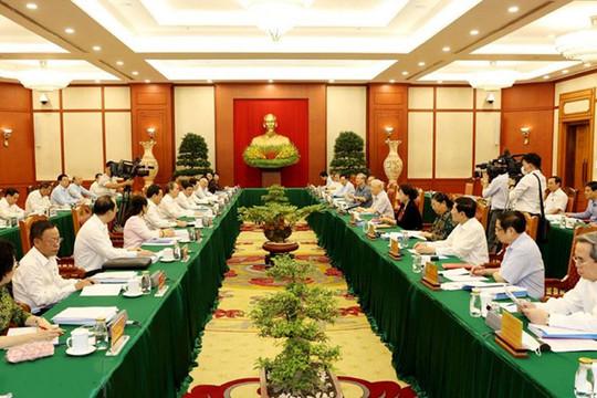 Cho ý kiến phương án nhân sự cấp ủy với 10 đảng bộ trực thuộc Trung ương
