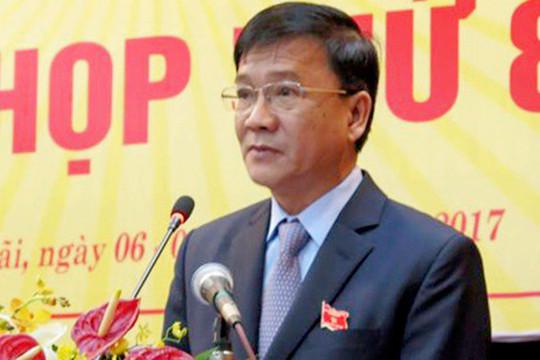 Thủ tướng quyết định thi hành kỷ luật nguyên Chủ tịch UBND tỉnh Quảng Ngãi