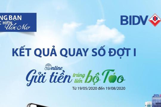 BIDV công bố chủ nhân giải đặc biệt chương trình Online gửi tiền, trúng liền bộ Táo