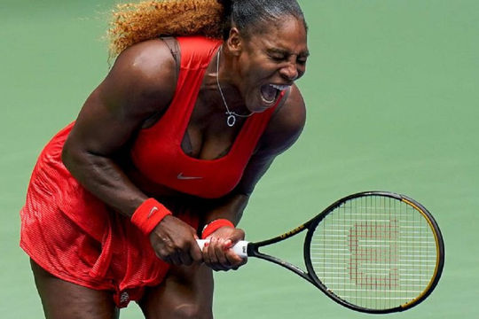 Serena Williams lần thứ 14 vào bán kết Mỹ mở rộng