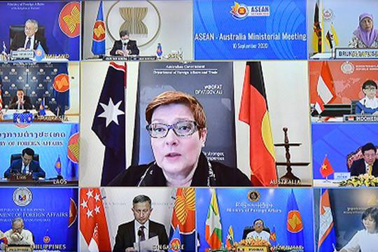 Australia cam kết hỗ trợ phát triển vaccine và Quỹ ASEAN ứng phó COVID-19