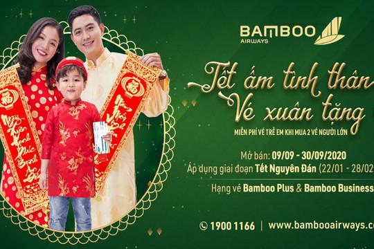 Tặng bé hành trình bay, Tết thêm nhiều yêu thương cùng Bamboo Airways