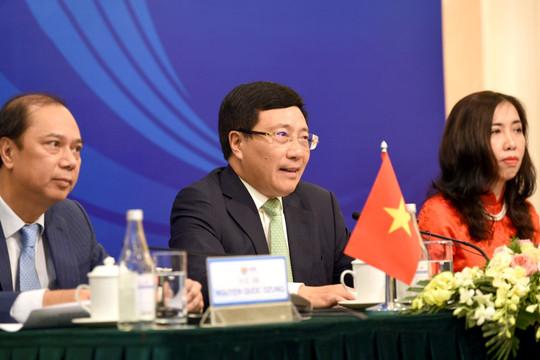 AMM53: Thông qua 42 văn kiện, 19 Hội nghị cấp Bộ trưởng và các Phiên họp diễn ra thành công