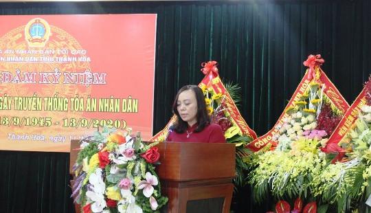 TAND tỉnh Thanh Hóa: Tiếp tục đẩy nhanh tiến độ và nâng cao chất lượng giải quyết, xét xử các loại vụ án