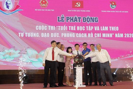 """Phát động Cuộc thi  """"Tuổi trẻ học tập và làm theo tư tưởng, đạo đức, phong cách Hồ  Chí  Minh"""" năm  2020"""