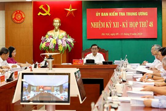UBKT Trung ương đề nghị xem xét kỷ luật một số tổ chức đảng, đảng viên