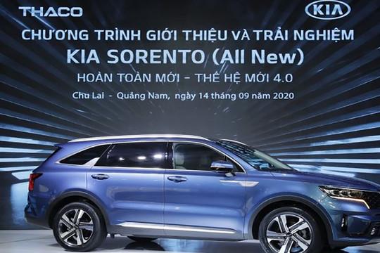 Mẫu xe Sorento thế hệ mới (4.0) - Thế hệ sản phẩm mới nhất của thương hiệu KIA - Đổi mới toàn diện về thiết kế và công nghệ