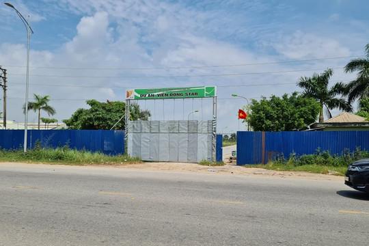 """Chủ đầu tư Khu đô thị Đức Việt """"nhờn"""" kết luận thanh tra"""