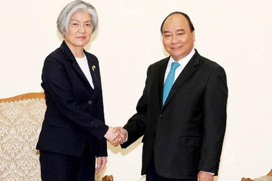 Hàn Quốc vui mừng về việc Bộ trưởng Kang thăm chính thức Việt Nam