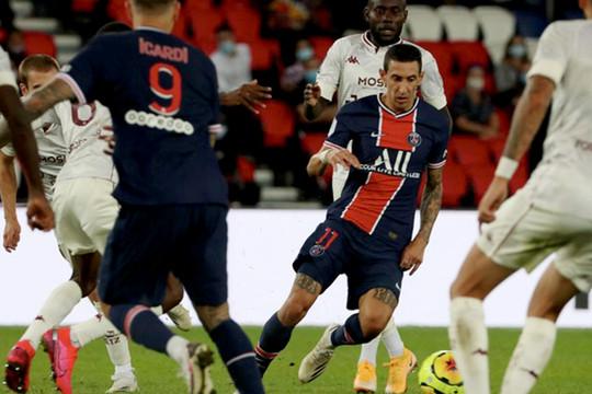 Vắng các trụ cột, PSG có trận thắng với tỷ số tối thiểu ở vòng một Ligue 1
