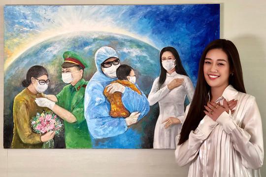 Khánh Vân gửi tặng 150 triệu đồng cho quỹ phòng chống dịch Covid-19
