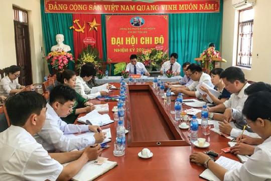 TAND huyện Lục Ngạn, Bắc Giang: Đẩy mạnh sáng kiến và phương thức quản lý hoàn thành xuất sắc nhiệm vụ