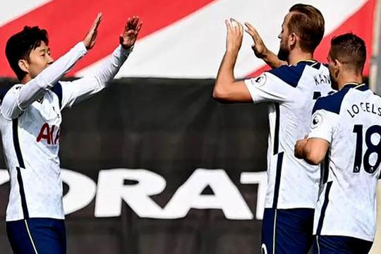 Son Heung-min, Harry Kane tỏa sáng giúp Tottenham chiến thắng ngoạn mục