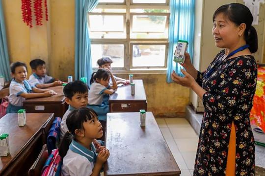 Sữa học đường giảm bớt gánh lo cho phụ huynh giữa mùa Covid