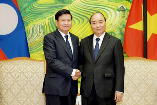 Thủ tướng Lào điện thăm hỏi Việt Nam về hậu quả bão Noul gây ra tại miền Trung
