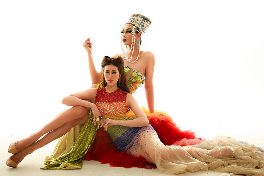 Mãn nhãn bộ ảnh hoa hậu Khánh Vân hoá thân Drag Queen