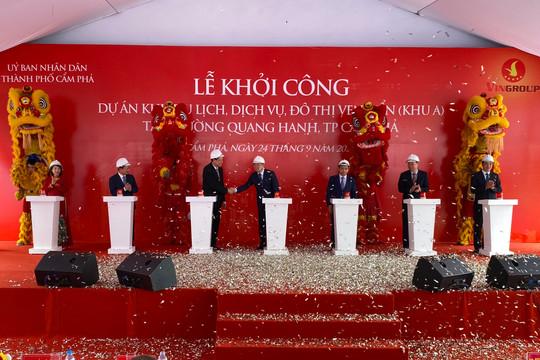 Vingroup khởi công khu dịch vụ, đô thị ven biển tại Quảng Ninh