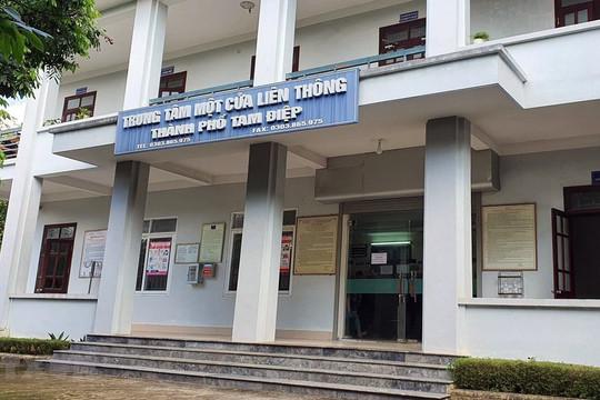 Bắt tạm giam Giám đốc chi nhánh văn phòng Đăng ký đất đai TP Tam Điệp