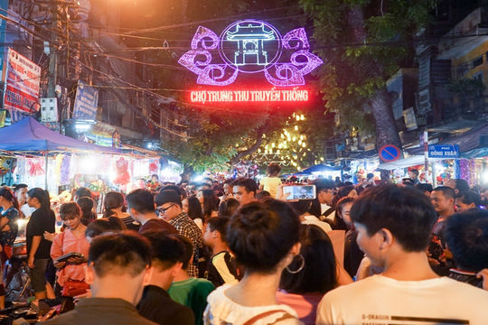 Hà Nội cấm 5 tuyến phố để phục vụ lễ hội Trung thu phố cổ