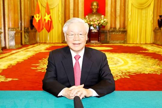 Tổng Bí thư, Chủ tịch nước gửi thông điệp đến phiên họp cấp cao Liên hợp quốc