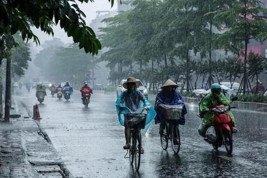 Bắc Bộ có mưa dông, cảnh báo lũ quét và sạt lở đất