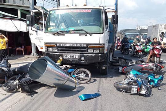 9 tháng đầu năm cả nước xảy ra 10.354 vụ tai nạn giao thông