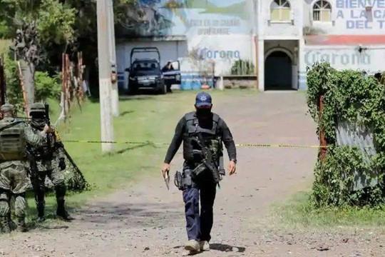 Xả súng tại Mexico: 11 người thiệt mạng