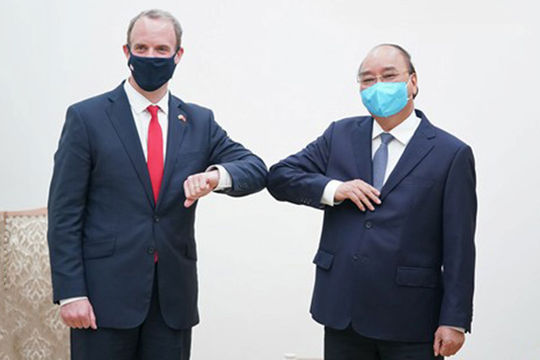 Việt Nam luôn coi Anh là đối tác hàng đầu tại châu Âu và trên thế giới