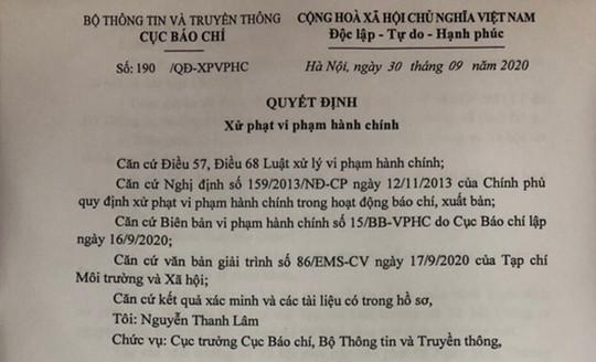 Thu hồi giấy phép Tạp chí thông tin sai về Bí thư Tỉnh ủy Đắk Lắk