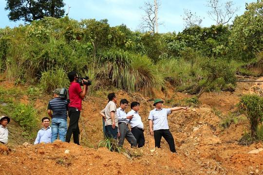 Kiểm tra công tác khắc phục hậu quả bão số 5