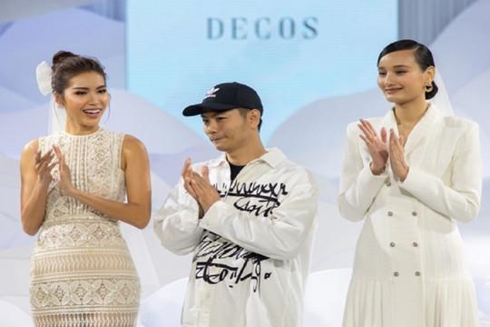 """Lê Thuý trở lại sàn diễn sau 2 năm vắng bóng, """"chạm trán"""" Minh Tú tại show NTK Nguyễn Phương Đông"""