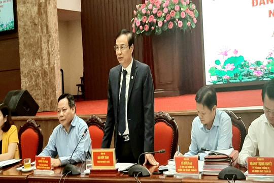 Đại hội đại biểu lần thứ XVII Đảng bộ thành phố Hà Nội diễn ra từ ngày 11-13/10