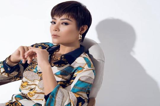 Thanh Hương để tóc tém cá tính trong bộ ảnh mới