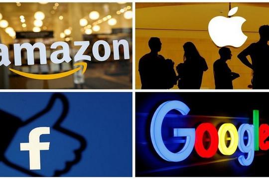 Hạ viện Mỹ tố Apple, Amazon, Facebook, Google quá độc quyền