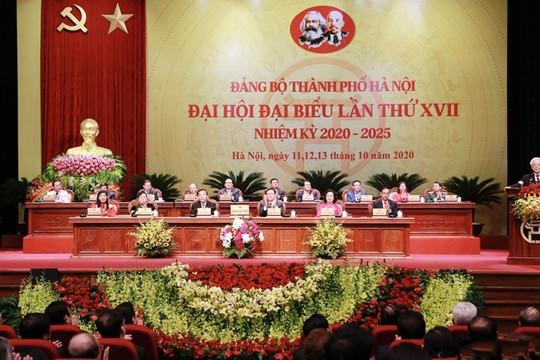 Khai mạc Đại hội đại biểu lần thứ XVII Đảng bộ thành phố Hà Nội