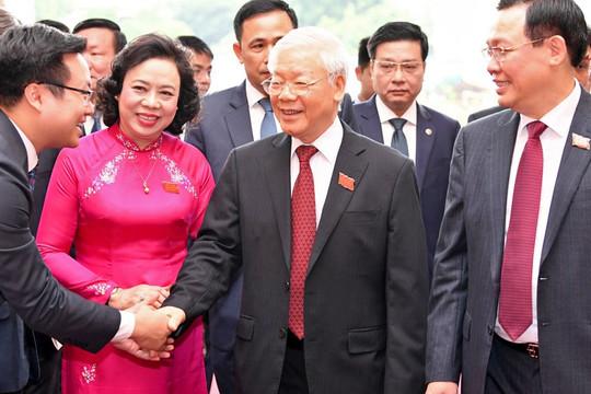 Tổng Bí thư, Chủ tịch nước: Hà Nội cần hành động mạnh mẽ, quyết liệt hơn trong phòng, chống tham nhũng