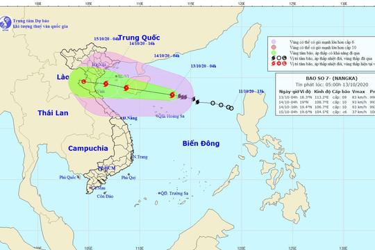 Bão số 7 hướng vào Vịnh Bắc Bộ, các tỉnh miền Bắc có mưa to đến rất to