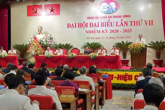 Bế mạc Đại hội Đảng bộ Công an Trung ương lần thứ VII